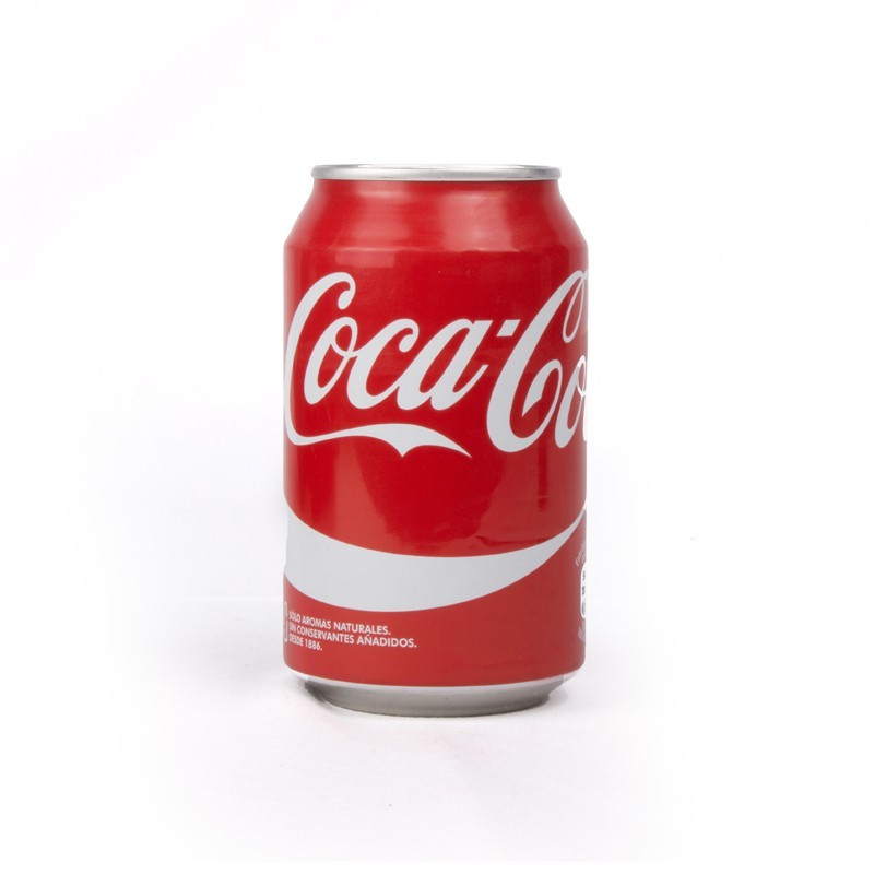 Resultado de imagem para lata coca cola 33cl