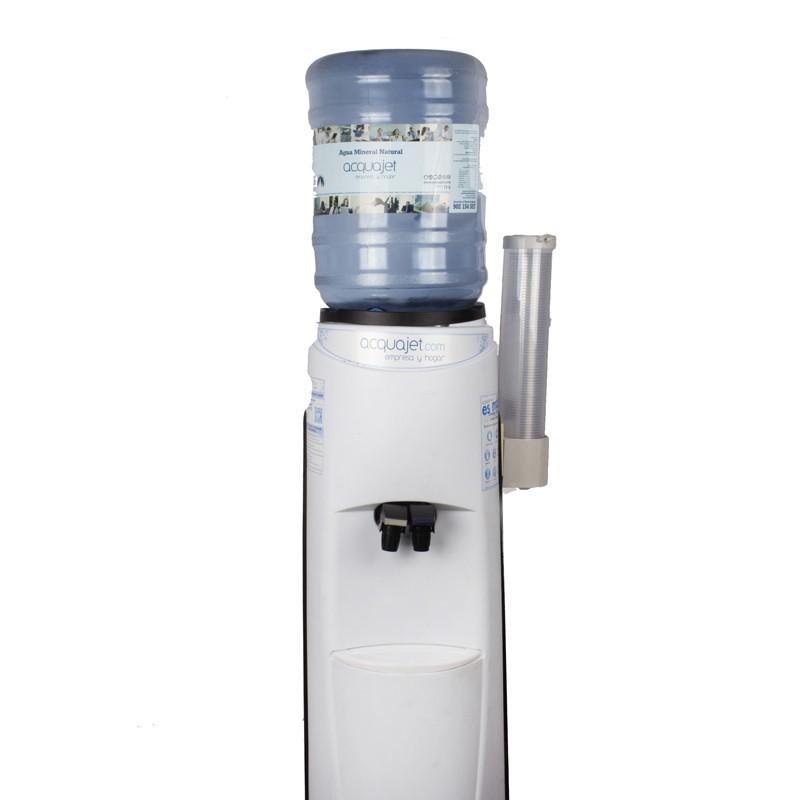 Alquiler Pack dispensador de agua + 1 botellón agua 19 lts. + 100 vasos de plástico
