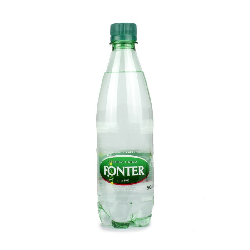 Agua con gas 0,5 lt (pack 24 udes)