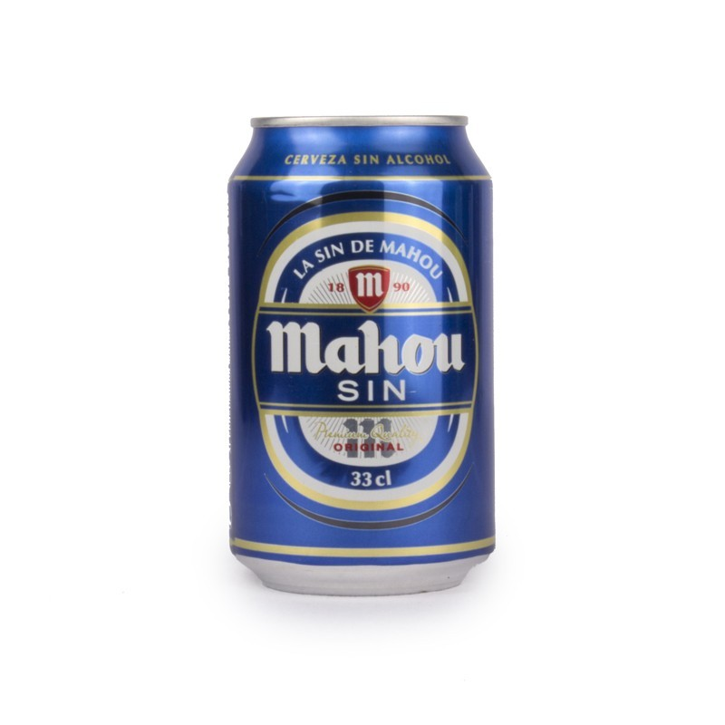 Domestic Beer Mahou alcohol-free 33cl Cans (pack 24 units)