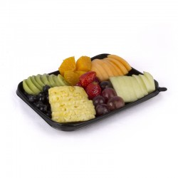 Assorted fresh cutted fruit tray (800grs)