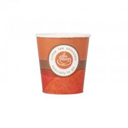 Vasos de café de cartón, capuccino (50 udes)