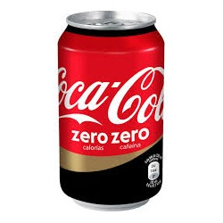 Coca-cola zero zero can (pack 24 unts.)