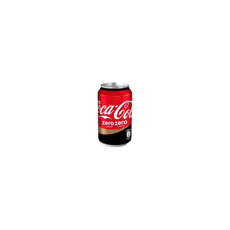 Coca-cola zero zero can (pack 24 unts.)