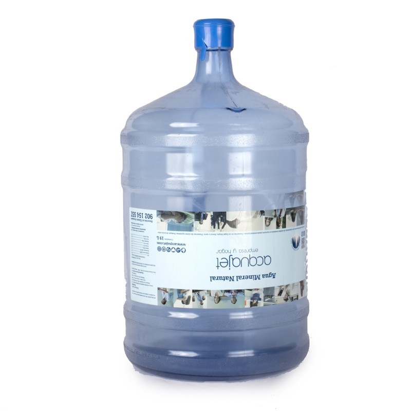 Extra bottle of water 19 lts + 100 plastic glasses