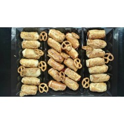Assortment of Mini Puff Pastry (28 uts - 400 grs)
