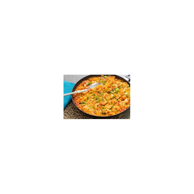 "Paella mixta, 20 portions  ór 40 ""tapa"" format"