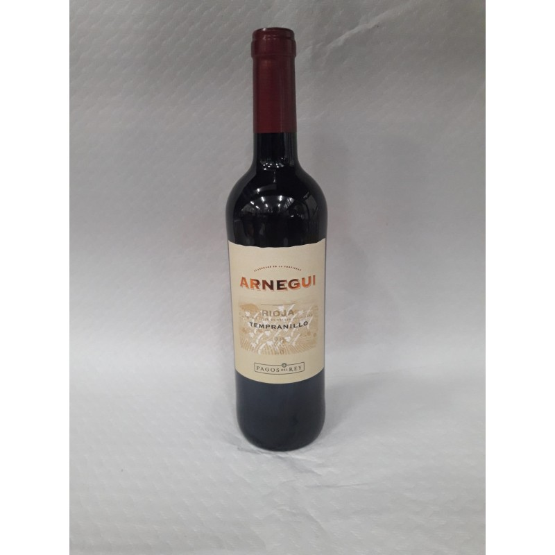 Red wine D.O. Rioja  young 0,75 l - ARNEGUI