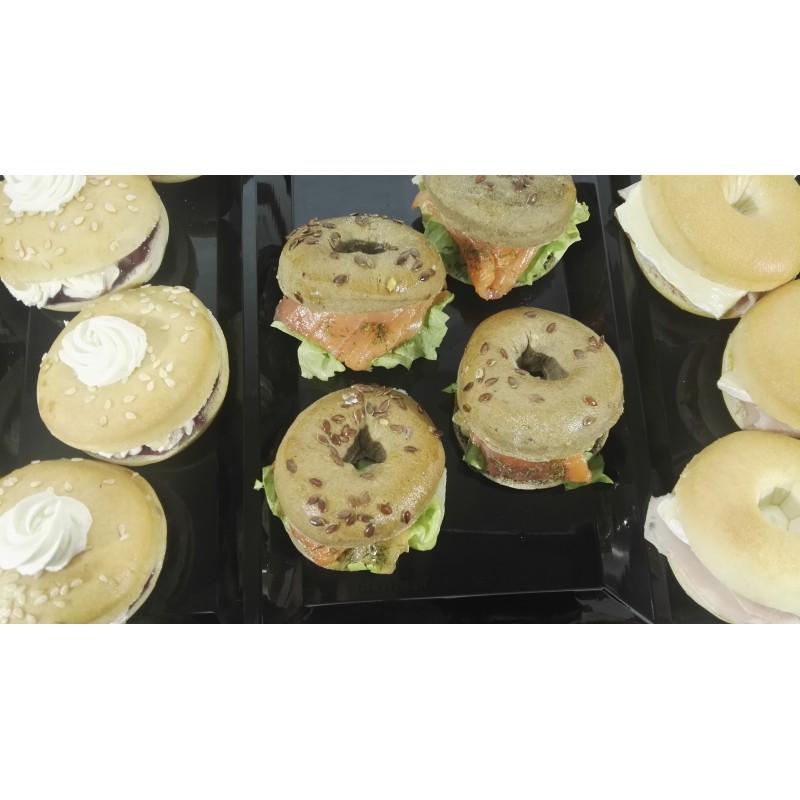 Assortment of mini bagels, 2 fillings (14 u.)