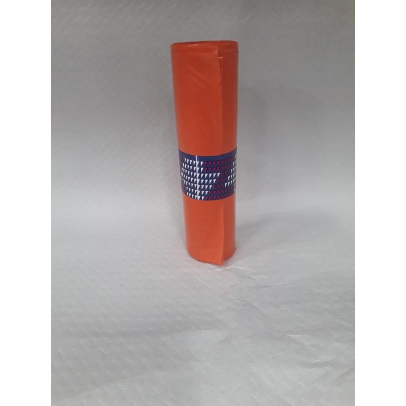 Rubbish bags-orange. (biodegradable)-for organic  (10 units)