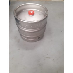 Draught beer refill barrel 30 lts, 5 estrellas + 100 paper glasses