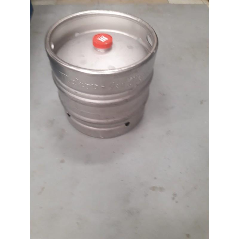 Draught beer refill barrel 30 lts, 5 estrellas + 100 paper glasses