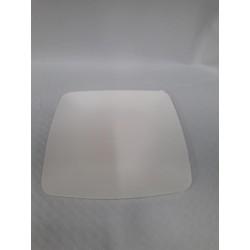 Platos cuadrados biodegradables 15 x 15 cm (25 udes)