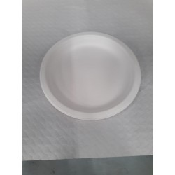Platos redondos biodegradables 18 cm (25 udes)