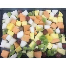 Bandeja de fruta fresca cortada variada (1 kg)