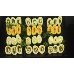 Assortment of mini wraps (28 units)