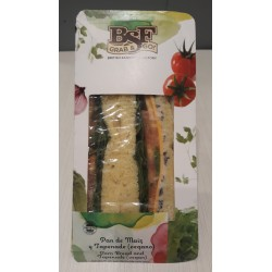 Green tapenade sandwich- vegan option-