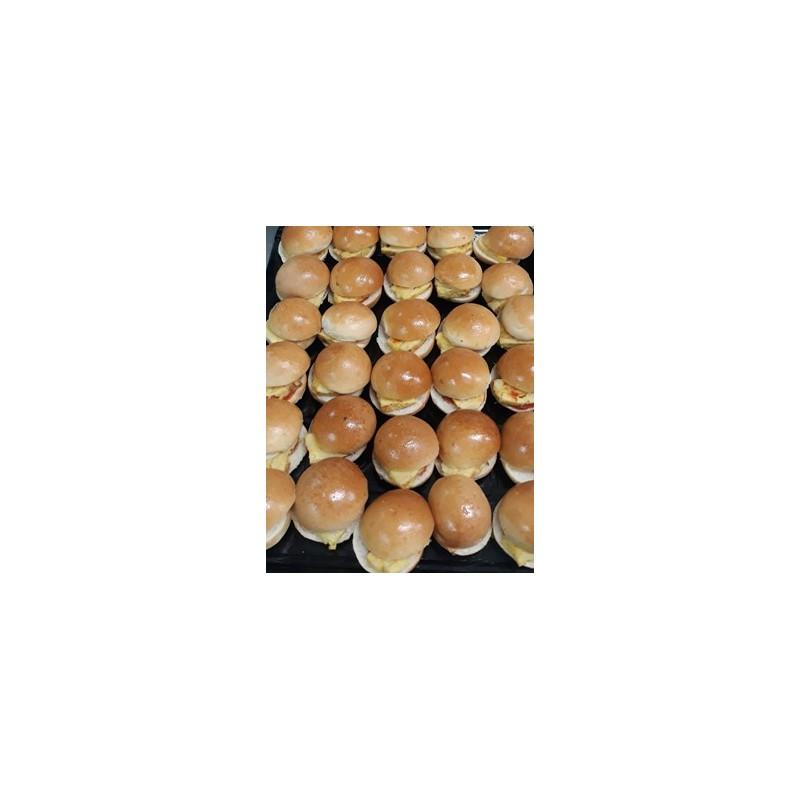 Mini Brioches with serrano ham (30 units)