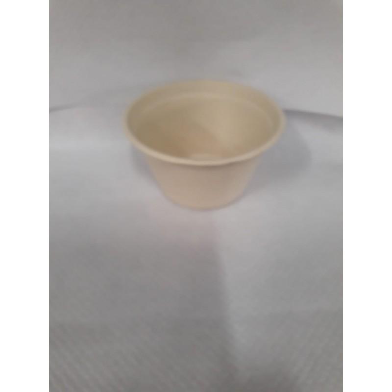 Biodegradable bowls for Snacks - big. 14 cms (50 units)