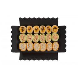Assortment of mini wraps (18 units)